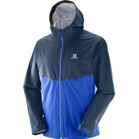 Salomon La Cote Flex 2.5L Jacket Herr surf the web/dress